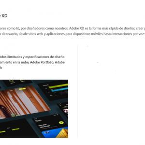 Adobe XD CC 2021